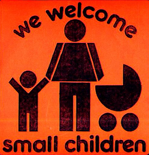 We Welcome Small Children logo